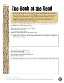 Ancient Egypt's Book of the Dead Primary Source Analysis W