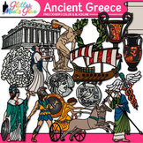 Ancient Greece Civilization Clip Art