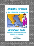 Ancient Greece Mini Books Pack (4 Mini Books)