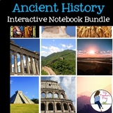Ancient History Interactive Notebook Mega Bundle