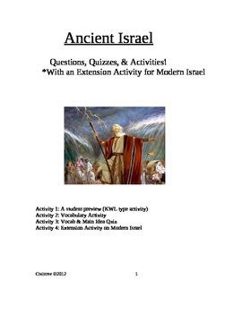 Ancient Israel Social Studies Lessons & Quizzes!