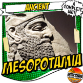 Ancient Mesopotamia Activity and Note Bundle Common Core G