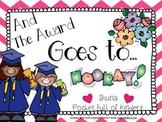 And the Award Goes To... { Editable End of the Year Awards}