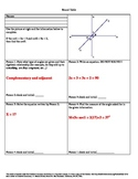 Angle Relationships using Algebra