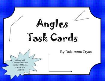 Angle Task Cards