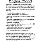 Angles Project - Create a Map!