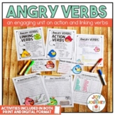 """""""Angry VERBS"""" Activity Packet"""