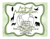 Animal Adaptation Science and Writing Stations with Techno