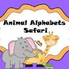 Animal Alphabets Safari
