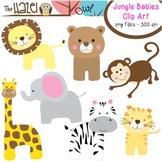 Animal Baby Set: Clip Art Graphics for Teachers {Jungle Theme}