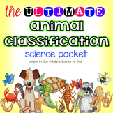 Animal Classification Activity Packet {science}