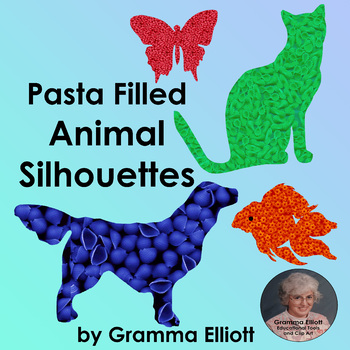 Animal Clip Art - Pasta Collection Freebie