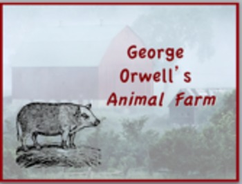 Animal Farm Novel Study Unit ~ Includes Reproducible Graph