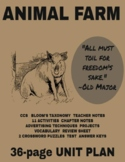 Literature - Animal Farm Unit Plan