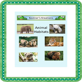 Animal Habitat Sorting Activity