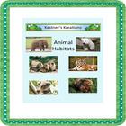 Animal Habitat Sorting Activity