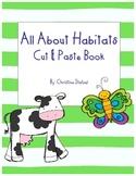 Animal Habitats Cut & Paste Book