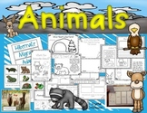 Animal Needs and Winter Adaptations (Hibernate, Migrate, A