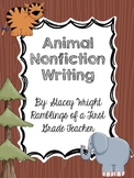 Animal Nonfiction Writing Reports