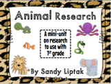 Animal Research for 1st Grade