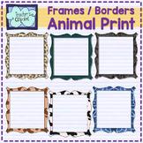 Animal print borders