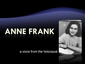 Anne Frank Powerpoint