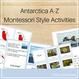 Antarctica A-Z Montessori Pack