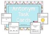Antonym Task Card Pack