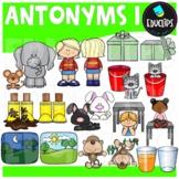 Antonyms Clip Art Bundle