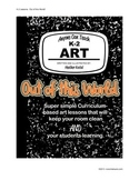 "Anyone Can Teach Art!  Complete K-2 Art Lesson/project ""Ou"