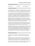 AP Literature & Composition Syllabus