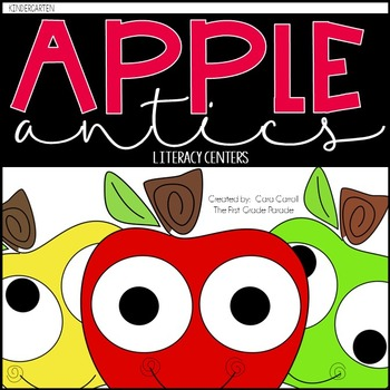 Apple Antics {11 Apple Themed Hands-On Literacy Activities}