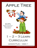 Apple Tree Bundle Packet - Lesson Plans and Lapbook