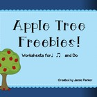 Apple Tree Freebies!