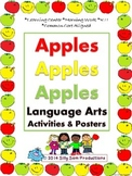 Apples Apples Apples Language Arts Activities & Posters