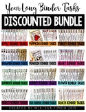 Monthly Themed Binder Sets (DISCOUNTED BUNDLE) - Independe
