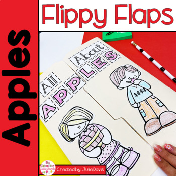 Apples Flippy Flaps Interactive Notebook Lapbook