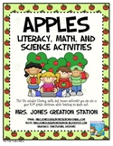 Apples Literacy, Math and Science Activities