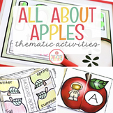 Apples: Preschool, Pre-K and Kindergarten Resources