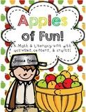 Apples of Fun! {Literacy, Math, & Craft Activities}