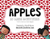 Apples to Apples Math Stations Aligned with Common Core