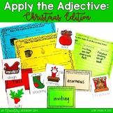 Apply the Adjective! {Christmas Edition}