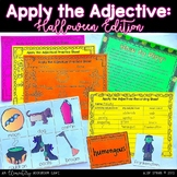 Apply the Adjective! {Halloween Edition}