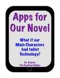 Apps in our Novel- What if our Main Characters had Tablet