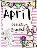 April Daily CLOZE Practice