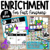 April Enrichment/Early Finishers*First Grade*
