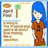 Song and lyrics - Jimmy Buffett style singing lesson, girl