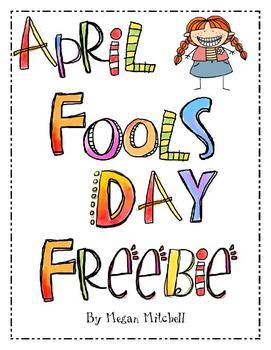 April Fool's Day Freebie