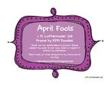 April Fools Joke Management Mini-Pack