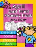 April Just Print Fluency Pack